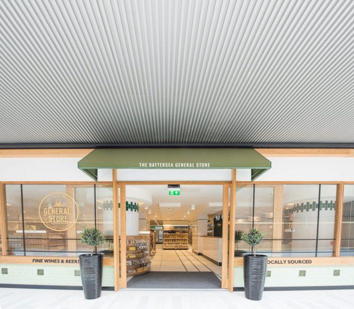 Smart and stylish shop front signage.